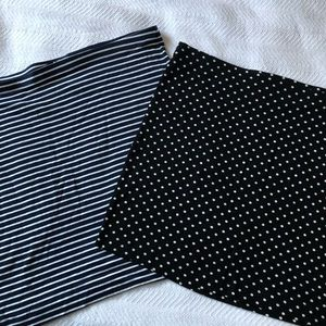 Bundle of two H&m cotton skirts